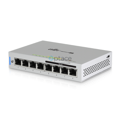 Ubiquiti UniFi Switch 8 60W | Fully Managed 802.3af PoE Gigabit Switch