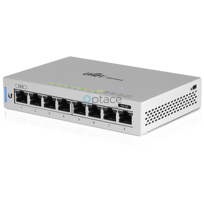 Ubiquiti Unifi Switch 8 (US-8) | Fully Managed Gigabit Switch