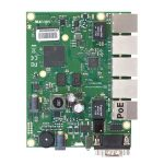 Mikrotik RouterBOARD RB450Gx4 | 716MHz CPU, 1GB RAM, 5xGigabit Ethernet