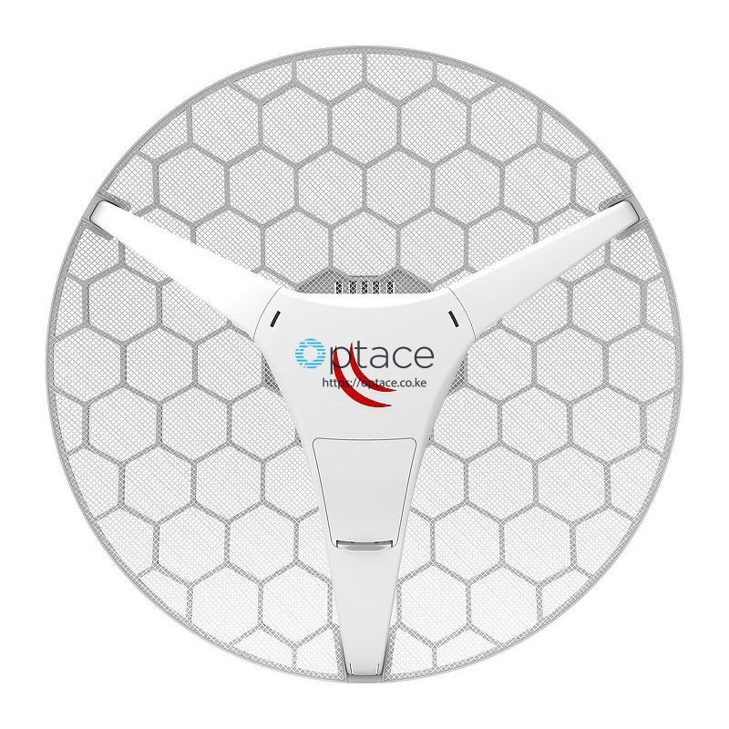 MikroTik LHG 5 ac | 24.5dBi, 5GHz CPE/Point-to-Point Integrated Antenna