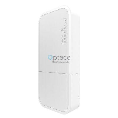 MikroTik wAP ac | Dual-band 2.4/5GHz Weatherproof Wireless Access Point