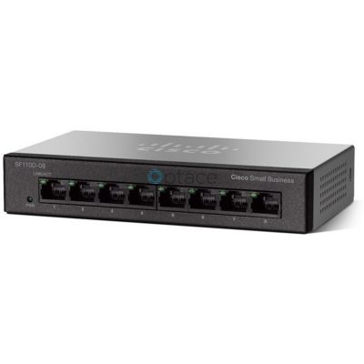 Cisco SF110D-08 8-port 10/100Mbps Unmanaged Switch