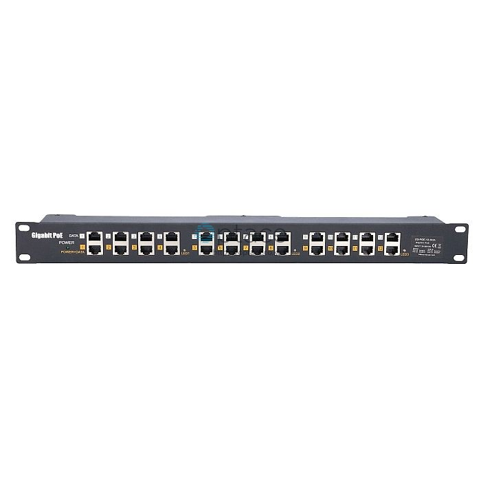 Extralink PoE Injector: 12-port, Gigabit