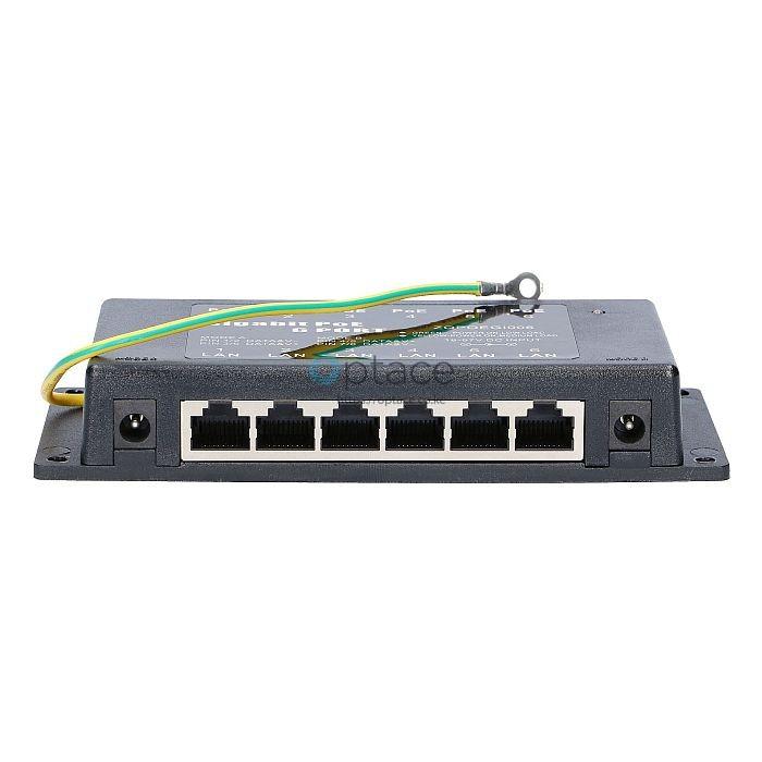 Extralink PoE Injector: 6-port, Gigabit