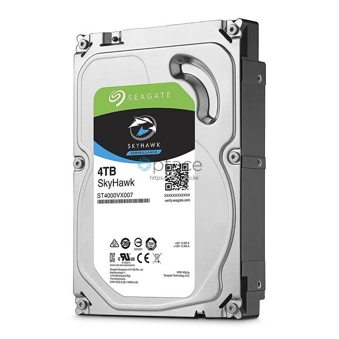 4TB Seagate SkyHawk Surveillance Hard Drive STV4000VX007
