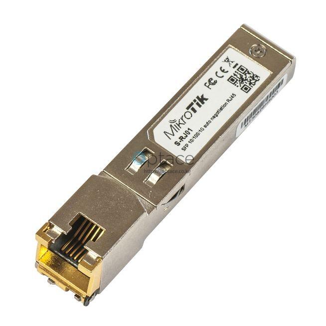 MikroTik (S-RJ01) RJ45 SFP 10/100/1000M Copper Module