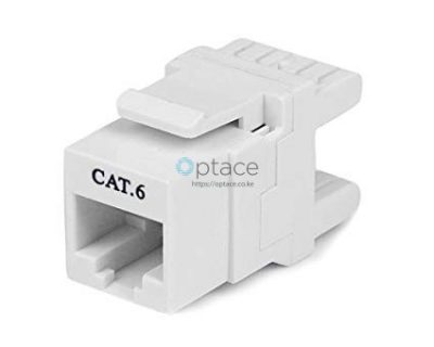 Giganet Category 6 UTP 180 Degrees Keystone Jack Module