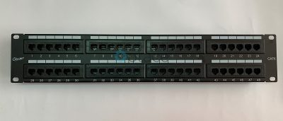 "Giganet Category 6 UTP 19"" 48 Port Patch panel"