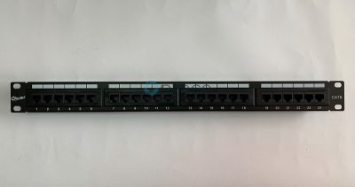 "Giganet Category 6 UTP 19"" 24 Port Patch panel"
