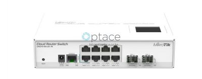 MikroTik (CRS210-8G-2S+IN) 8x Gigabit Smart Switch with 2x SFP+ Cages