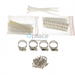 Extralink 24 Core Fiber Optic Patch Panel – White V2 accessories