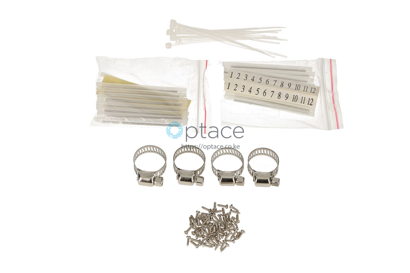 Extralink 24 Core Fiber Optic Patch Panel - White V2 accessories