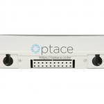 Extralink 24 Core Fiber Optic Patch Panel – White V2 back