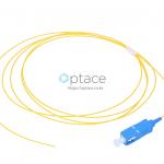 Extralink Fiber Optic Pigtail: SC/UPC, 1m, Single Mode