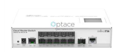 MikroTik (CRS212-1G-10S-1S+IN) Smart Switch, 1x Gigabit LAN, 10x SFP Cages