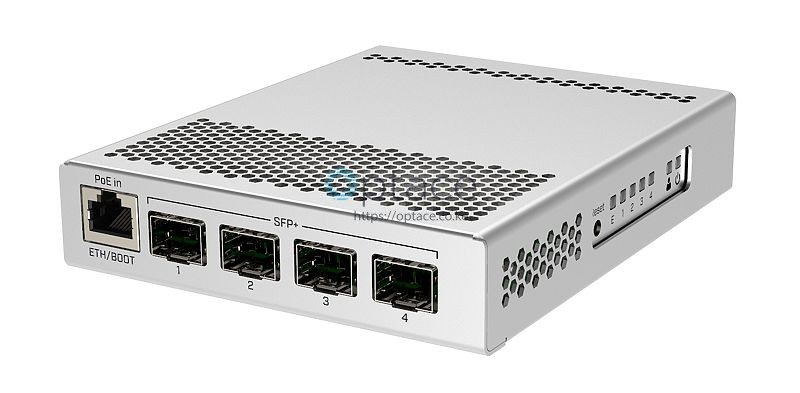 MikroTik CRS305-1G-4S+IN | 5-port Desktop Switch w/ 1 GE Port and 4 SFP+  10Gbps Ports