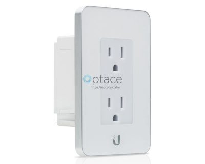 Ubiquiti mFi In-Wall Manageable Outlet (White)