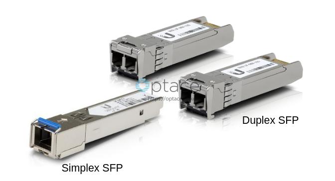 Simplex SFP vs Duplex SFP