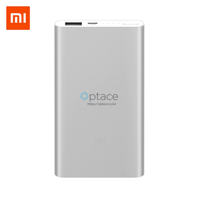 5000mAh Mi power Bank 2c Silver