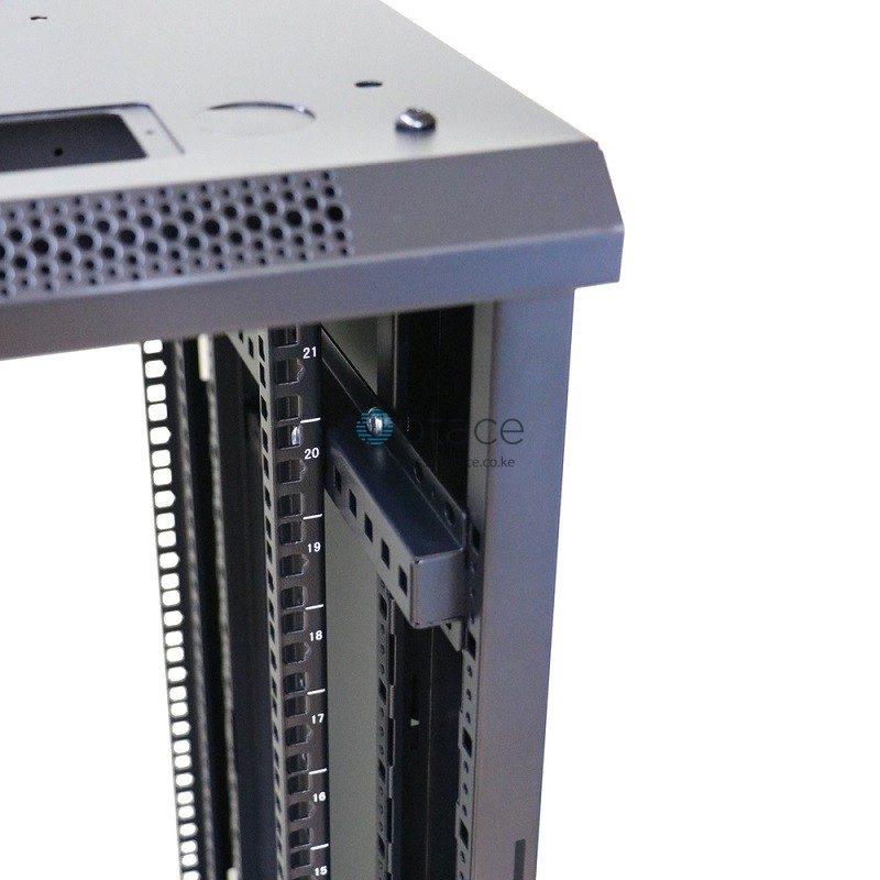Extralink 22U Free Standing Rackmount Cabinet | 600X800, Black