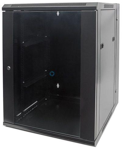 15U Free Standing Cabinet 600 x 800 (Black)