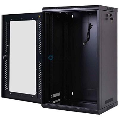 15U Free Standing Cabinet 600 x 1000 (Black)
