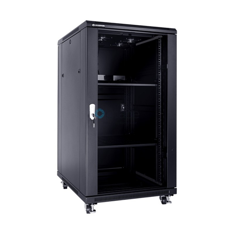 22U Free Standing Cabinet 800 x 1000 (Black)