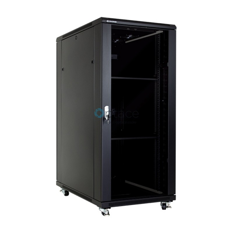 27U Free Standing Cabinet 600 x 800 (Black)