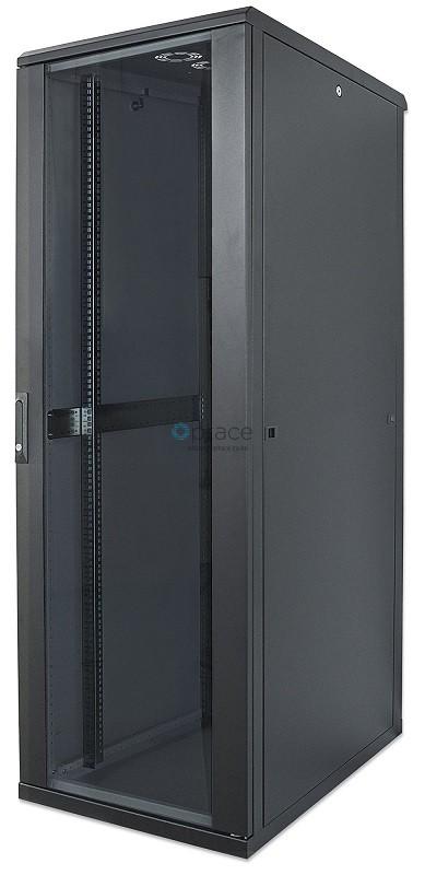 32U Free Standing Cabinet 600 x 600 (Black)