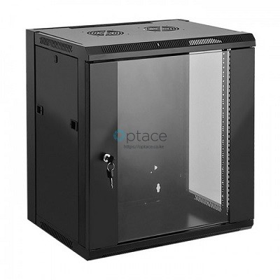 6U Wall Mount Data Cabinet 600 x 600 (Black)