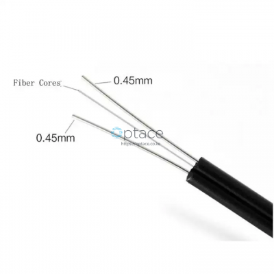 Indoor Fiber Optic FTTH Drop Cable