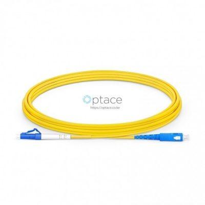 Optical Fiber Patchcord SM, LC-SC, 3m - Simplex