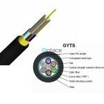 Optace Fiber Optic Cable | 24-core, Singlemode, OS2, (GYTS)