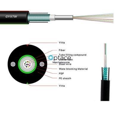 Optace Fiber Optic Cable | 12-core, Singlemode, OS2, (GYXTW)
