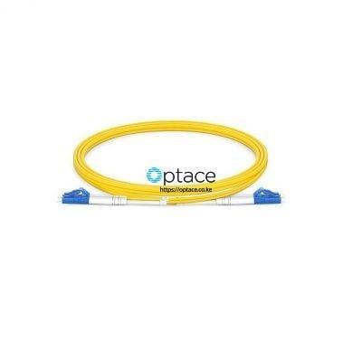 Optace Fiber Patchcord 2LC_UPC-2LC_UPC, Singlemode, 1m