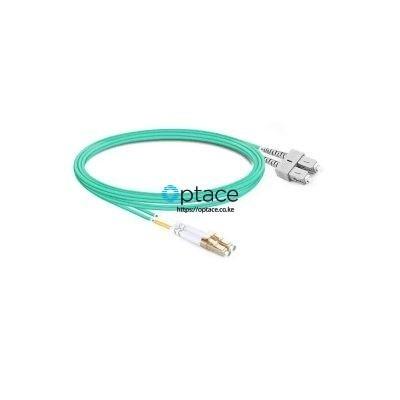 Optace Fiber Patchcord 2SC_UPC-2LC_UPC, OM4, 3m
